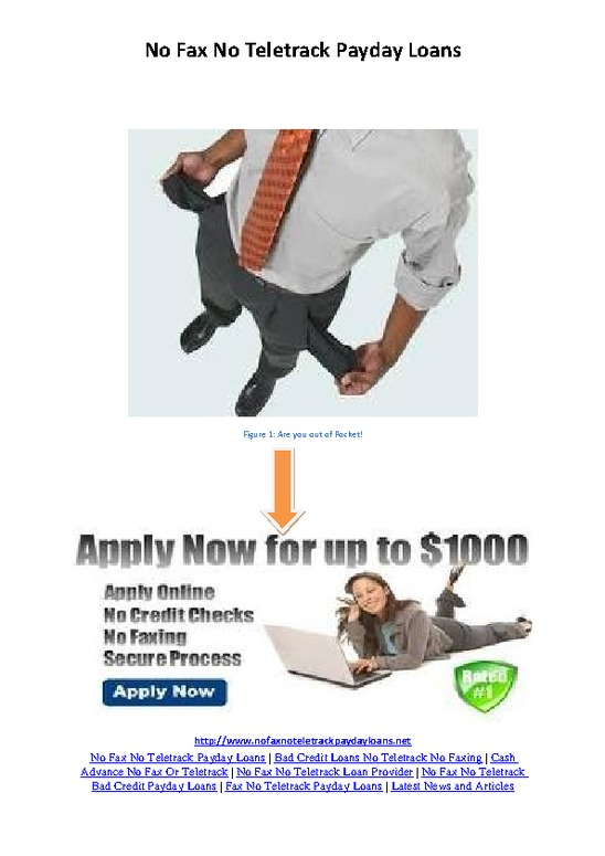 3 30 Days Pay day loans Absolutely no Credit score Examine
